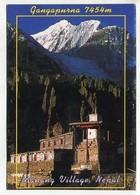 NEPAL - AK 351140 Manang Village - Gangapurna - Nepal