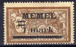 Memel (Klaipeda) 1920 Mi 26  * [020619XXVII] - Memelgebiet
