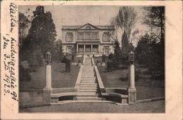 ! Alte Ansichtskarte Aachen, Villa , 1923, Adelsadresse München - Aachen