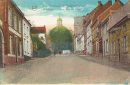 CPA Scherpenheuvel Diesterschestraat - Montaigu Rue De Diest (naar Courcelles, 4/7/1929) - Scherpenheuvel-Zichem