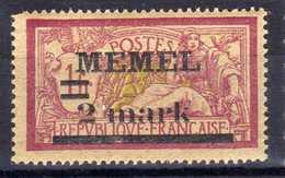 Memel 1920 Mi 28 X  * [020619XXVII] - Memelgebiet