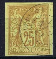 Colonies Francaises Yv 44 Cachet A Date Martinique Fort De France - Sage