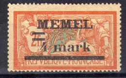 Memel (Klaipeda) 1920 Mi 31 II X * [020619XXVII] - Memelgebiet