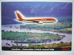 Avion / Airplane / AVIANCA / Boeing B 767-259ER / Airline Issue - 1946-....: Era Moderna