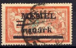 Memel 1920 Mi 31 I Y, Gestempelt [020619XXVII] - Memelgebiet