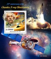 SIERRA LEONE 2019 MNH Albert Einstein Chandra X-ray Observatory S/S - IMPERFORATED - DH1921 - Albert Einstein
