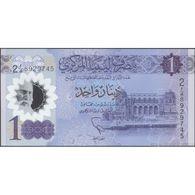 TWN - LIBYA NEW - 1 Dinar 2019 Polymer - Series 2 - Various Prefixes UNC - Libya