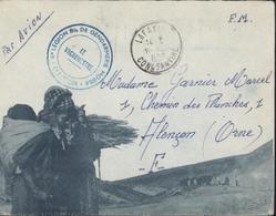 Enveloppe Illustrée Jomone Cachet 6e Légion Bis Gendarmerie Mobile 6e Escadron CAD 1958 Lafayette Constantine Agérie FM - Algérie (1924-1962)