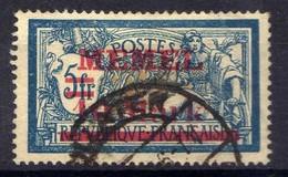 Memel 1921 Mi 38 I, Gestempelt [020619XXVII] - Klaipeda