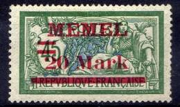 Memel 1921 Mi 39 I * [020619XXVII] - Memelgebiet