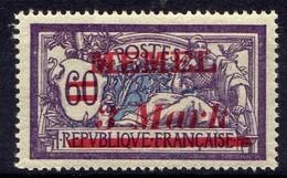 Memel 1921 Mi 38 II * [020619XXVII] - Memelgebiet
