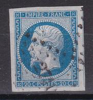 CP37/   NAPOLEON N° 14 OBL - 1853-1860 Napoleon III