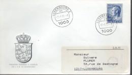 LUXEMBOURG  FDC  1991 Grand Duc Jean - Persönlichkeiten