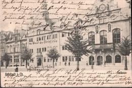 ! Alte Ansichtskarte Arnstadt In Thüringen, Rathaus, 1905 - Arnstadt