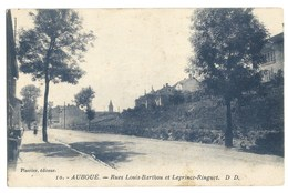 B569 Auboue Rues Louis Barthou Et Leprince Ringuet - Francia