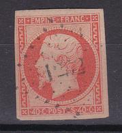 CP37/   NAPOLEON N° 16 OBL COTE 22€ - 1853-1860 Napoleon III