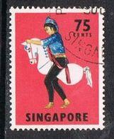 Singapore SG111 1968 Definitive 75c Good/fine Used [15/14394/2D] - Singapore (1959-...)