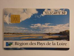 Télécarte - Région Des Pays De La Loire - Cultural