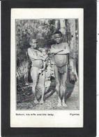 CPA Kenya Ethnic Afrique Noire Type Non Circulé Pigmies Nu Féminin Nude - Kenia