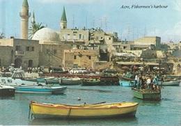 # Cartolina Da Israele (Acre, Fishermen's Harbour) - Per Bologna 1988 (vedi Foto) - Israele