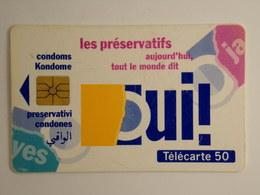 Télécarte - Les Préservatifs Aujourd'hui, Tout Le Monde Dit Oui ! - 1993 - Cultural