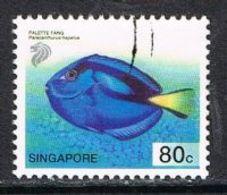 Singapore SG1135 2001 Definitive 80c Good/fine Used [15/14389/2D] - Singapore (1959-...)