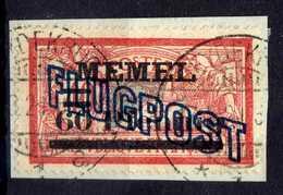 Memel (Klaipeda) 1921 Mi 41 Gestempelt, Flugpost / Air Mail [020619XXVII] - Memelgebiet