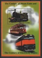 "2002 Sierra Leone ""1899 Steam Locomotive"" Treni Trains Railways Locomotive Locomotives MNH** Sie108 - Treni"