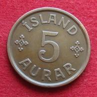 Iceland  5 Aurar 1926 KM# 7.1   Islandia Islande Island Ijsland - Islande