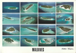 Cartolina Dalle Maldive (ATOLLI) - Per Bologna 2004 (vedi Foto) - Maldive