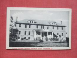 Graham Cottage Vermont Industrial School Vergenes - Vermont ---- Ref 3397 - United States