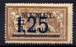 Memel (Klaipeda) 1922 Mi 49 * [020619XXVII] - Memelgebiet