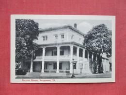 Stevens House  Vergenes - Vermont ---- Ref 3397 - United States