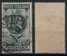 """Italia - Repubblica 1950 """"In Onore Di Gaudenzio Ferrari L. 20"""" Usato - 1946-60: Used"""