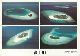 Cartolina Dalle Maldive (ATOLLI) - Per Bologna 2002 (vedi Foto) - Maldive