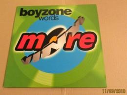 Maxi 33T BOYZONE : Words - Dance, Techno & House