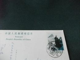 STORIA POSTALE CARTOLINA POSTALE CINA CHINA BRUSH BLOOMING IN DREAM - Cina