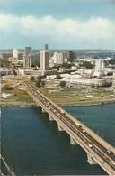 Costa D'Avorio (Abidjan, Ponte Houphouët-Boigny) Per Serravalle Sesia 1977 (vedi Foto) - Costa D'Avorio