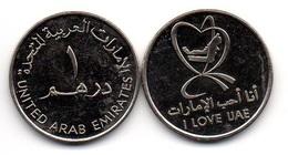 UAE United Arab Emirates - 1 Dirham 2010 UNC I Love UAE Comm. Lemberg-Zp - Emirati Arabi