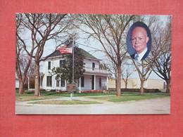 Eisenhower Home & Museum Abilene --------------------  --- Ref 3397 - Historical Famous People