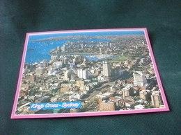 STORIA POSTALE FRANCOBOLLO AUSTRALIA KINGS CROSS SYDNEY  VISTA AEREA - Sydney