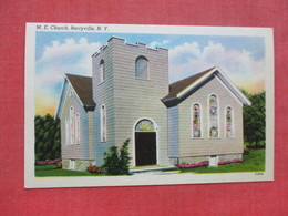 M.E. Church Barryville    - New York ------------------  --- Ref 3397 - Other
