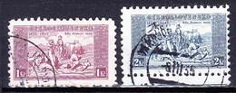 Tchécoslovaquie 1934 Mi 330-1w (Yv 290-1), Obliteré - Oblitérés