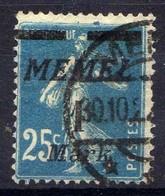 Memel (Klaipeda) 1922 Mi 86, Gestempelt [301016XIII] - Memelgebiet