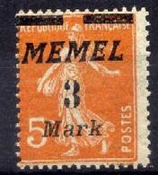 Memel (Klaipeda) 1922 Mi 110 ** [020619XXVII] - Memelgebiet