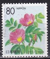 Japan, 1996 - 80y Hokkaido - Nr.Z190 Usato° - 1989-... Imperatore Akihito (Periodo Heisei)
