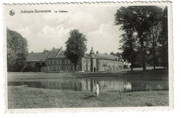 Jodoigne-Souveraine - Le Château - Circulée - Edit. Mathieu-Tirions - 2 Scans - Jodoigne