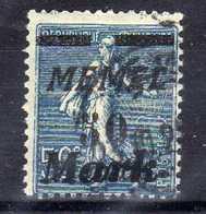 Memel 1923 Mi 122, Gestempelt [020619XXVII] - Memelgebiet