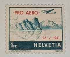 Timbre Suisse Aérienne - Suisse