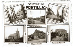 Souvenir De Pontillas - Multi-vues - 2 Scans - Fernelmont